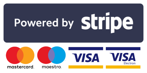 Our payments are secured by Stripe